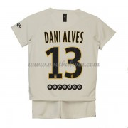 Paris Saint Germain PSG Voetbaltenue Kind 2019-20 Dani Alves 13 Uitshirt..